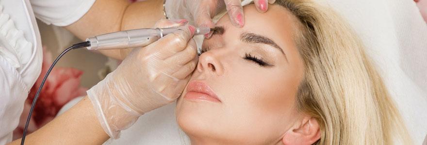 Produits de maquillage permanent