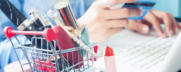 Vente en ligne de maquillage